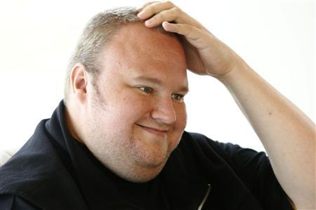 Kim Dotcom speaks during an interview with Reuters in Auckland January 19, 2013. REUTERS/Nigel Marple