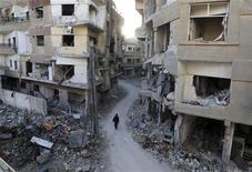 Líderes da oposição síria lançaram nova proposta de governo de transição para pôr fim à guerra civil que já deixou 60 mil mortos em 22 meses de conflito. 19/01/2013 REUTERS/Goran Tomasevic