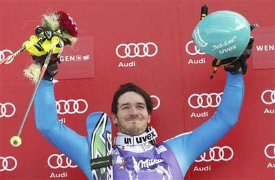 Alpine skiing: Neureuther emulates father with Wengen...