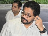 Negociador das Farc, Ivan Marquez, anunciou que cessar-fogo unilateral declarado pelo grupo guerrilheiro chegou ao fim neste domingo. 16/01/2013 REUTERS/Enrique De La Osa