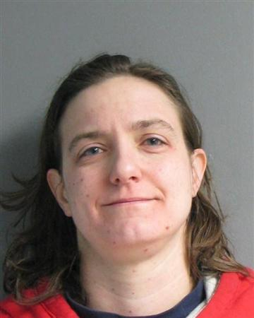 Sonja Farak, 35, is pictured in this Massachusetts State Police booking photo taken January 19, 2013. REUTERS/Massachusetts State Police/Handout