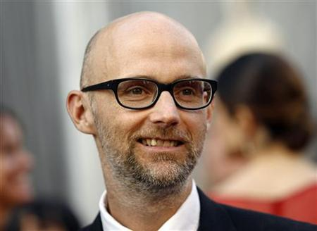 Musician Moby arrives at the 84th Academy Awards in Hollywood, California, February 26, 2012. REUTERS/Lucy Nicholson