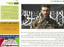 Il veterano jihadista Mokhtar Belmokhtar in una immagine su sito di notizie Mauritania, Sahara Media. Belmokhtar ha rivendicato la responsabilità, per conto di al Qaeda, del rapimento in Algeria. 20 gennaio 2013. REUTERS/Sahara Media website via Reuters TV