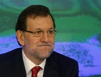 El presidente del Partido Popular, Mariano Rajoy, ha ordenado una auditoría externa de las cuentas de la formación después de las noticias sobre supuestos pagos irregulares a miembros del partido en el poder en España, anunció el lunes su número dos, María Dolores de Cospedal. Imagen de Rajoy en la reunión del comité ejecutivo nacional celebrado el 21 de enero en Madrid. REUTERS/Sergio Pérez