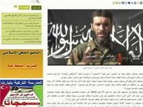 """Видный джихадист Мохтар Белмохтар на фрагменте страницы мавританского новостного сайта Sahara Media от 20 января 2013 года. Связанная с """"аль-Каидой"""" исламистская организация, взявшая на себя ответственность за захват заложников в Алжире, угрожает новыми нападениями в том случае, если страны Запада не откажутся от операций в Мали, сообщила мониторинговая служба SITE в понедельник. REUTERS/Sahara Media website via Reuters TV"""