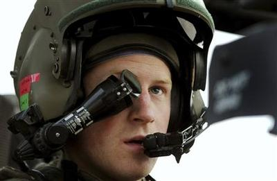 Prince Harry says he killed Afghan insurgents during...