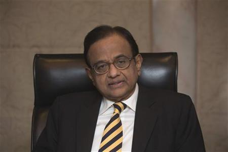 Finance Minister Palaniappan Chidambaram attends a news conference in Hong Kong January 22, 2012. REUTERS/Tyrone Siu/Files