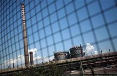 L'impianto siderurgico Ilva di Taranto in una foto dell'agosto 2012. REUTERS/Yara Nardi