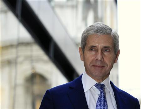 Stuart Rose, Chairman of Marks and Spencer, attends the opening of the One New Change shopping centre in London October 28, 2010. REUTERS/Luke MacGregor