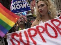 Em discurso de posse, presidente dos Estados Unidos, Barack Obama, destacou o progresso recente nos direitos para homossexuais no país. 23/06/2011 REUTERS/Andrew Kelly