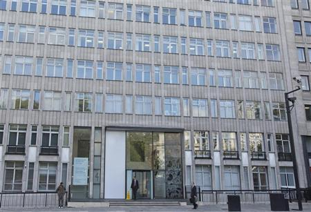 Exterior view of the office building that houses Bumi Plc in London September 25, 2012. Picture taken September 25, 2012. REUTERS/Neil Hall