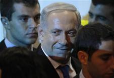 Il primo ministro israeliano Benjamin Netanyahu. REUTERS/Nir Elias