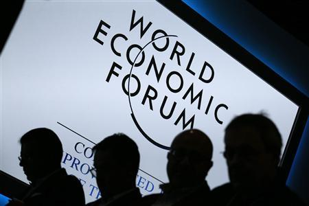 Participants attend a session during the annual World Economic Forum (WEF) meeting in Davos, January 23, 2013. REUTERS/Pascal Lauener