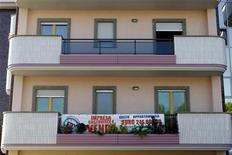 Appartamenti in vendita a Roma. REUTERS/Giampiero Sposito