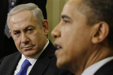 U.S. President Barack Obama meets with Israel's Prime Minister Benjamin Netanyahu in the Oval Office of the White House in Washington, March 5, 2012. REUTERS/Jason Reed