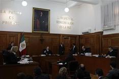 La Cour suprême du Mexique a ordonné mercredi la libération immédiate de la Française Florence Cassez, condamnée en 2008 à une peine de 60 ans de prison pour complicité d'enlèvements. /Photo prise le 23 janvier 2013/REUTERS/Henry Romero