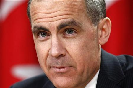 Bank of Canada Governor Mark Carney listens to a question during a news conference upon the release of the Monetary Policy Report in Ottawa January 23, 2013. REUTERS/Chris Wattie