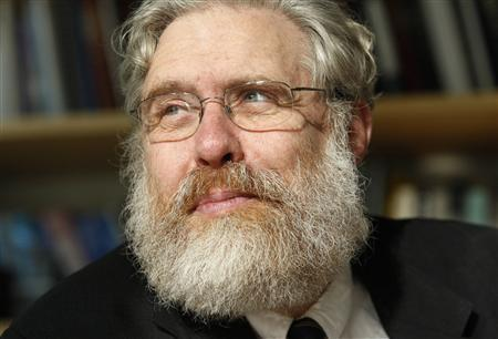 Harvard geneticist George Church speaks to Reuters reporters about cloning during an interview in Boston, Massachusetts January 23, 2013. REUTERS/Jessica Rinaldi