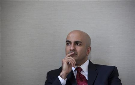 Neel Kashkari pauses during an interview in San Francisco, California, May 18, 2009. REUTERS/Kimberly White/Files