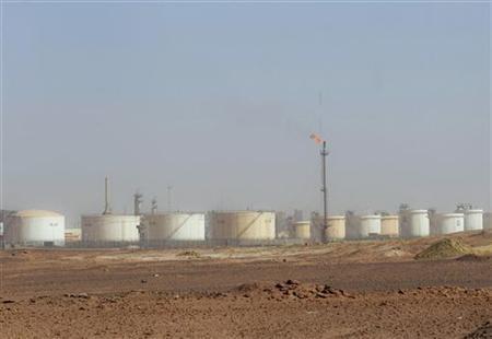 A gas field is seen near Zarzaitine in In Amenas,1,600km (994 miles) southeast of Algiers January 22, 2013. REUTERS/Louafi Larbi