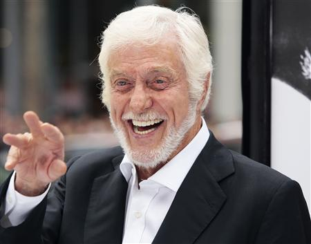 Actor Dick Van Dyke arrives for the premiere of the film ''Mr. Popper's Penguins'' in Hollywood, California, in this June 12, 2011 file photograph. REUTERS/Jason Redmond/Files