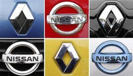 Nissan, la filiale japonaise de Renault, compte attribuer la fabrication de sa prochaine berline compacte à une usine française du groupe au losange, rapportent jeudi Les Echos sur leur site internet. /Photo d'archives/REUTERS/Vincent Kessler