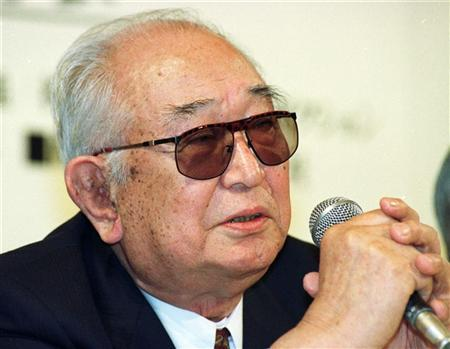 Japan's most famed movie director Akira Kurosawa, seen in a file photo, died on September 6 at the age of 88. TA/CC/SB