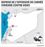 REPRISE DE L'OFFENSIVE DE L'ARMÉE SYRIENNE CONTRE HOMS