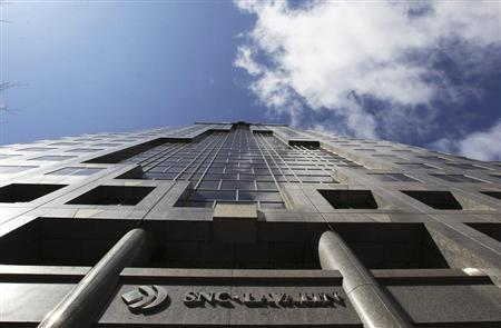 The head office of SNC Lavalin seen in downtown Montreal March 26, 2012. REUTERS/Christinne Muschi