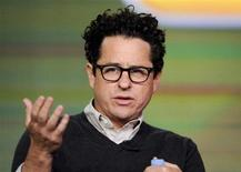 "Executive producer J.J. Abrams takes part in a panel discussion of NBC Universal's series ""Revolution"" during the 2013 Winter Press Tour for the Television Critics Association in Pasadena, California, January 6, 2013. REUTERS/Gus Ruelas"