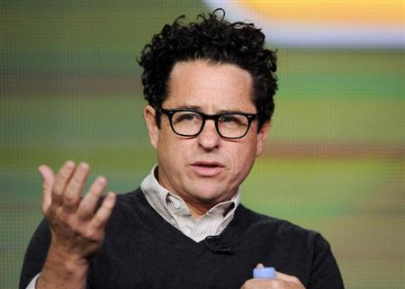 Executive producer J.J. Abrams takes part in a panel discussion of NBC Universal's series ''Revolution'' during the 2013 Winter Press Tour for the Television Critics Association in Pasadena, California, January 6, 2013. REUTERS/Gus Ruelas