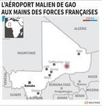 L'AÉROPORT MALIEN DE GAO AUX MAINS DES FORCES FRANÇAISES