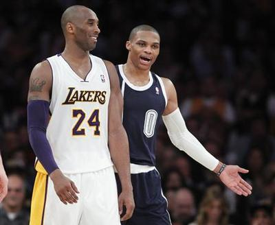 Kobe and resurgent Lakers silence Thunder