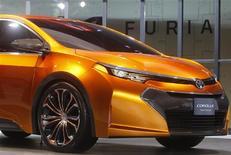 Imagem do carro Toyota Corolla Furia durante exibição no Salão Internacional do Automóvel Norte Americano em Detroit, Estados Unidos. 14/01/2013 REUTERS/Rebecca Cook