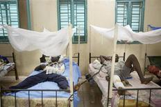 Saldati maliani feriti in una clinica militare a Kati, Mali. REUTERS/Malin Palm