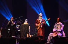 Saharan Touareg band Tamikrest performs at Sahara Soul, a music festival at the Barbican Hall in London January 26, 2013. REUTERS/Mark Allan/Barbican/handout