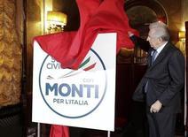 Mario Monti in una immagine di archivio. REUTERS/Max Rossi