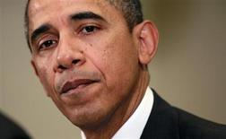 Presidente dos EUA, Barack Obama, é visto durante reunião na Casa Branca, em Washington. Obama disse não saber se uma intervenção militar na Síria ajudará a encerrar 22 meses de uma sangrenta guerra civil, ou se agravaria a situação. 28/01/2013 REUTERS/Jason Reed