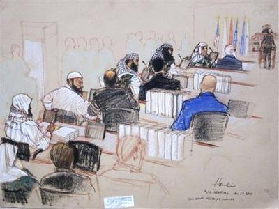 Who's silencing Guantanamo court audio feed, judge...