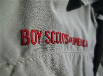 A Boy Scouts of America uniform is pictured in San Diego, California, in this October 18, 2012 file photo. REUTERS/Staff/Files (UNITED STATES - Tags: SOCIETY)