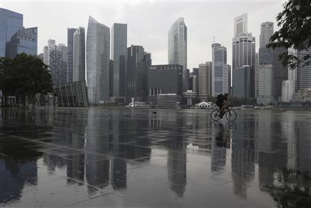 1月29日、シンガポール政府は、経済活動を維持するため、今後20年間で人口を最大30%増やす方針を明らかにした。写真はシンガポールで3日撮影(2013年 ロイター/Edgar Su)