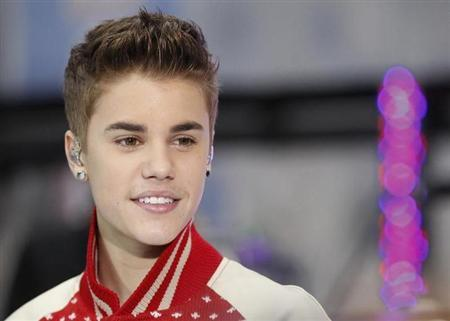 Singer Justin Bieber performs on NBC's ''Today'' show in New York November 23, 2011. REUTERS/Brendan McDermid/Files