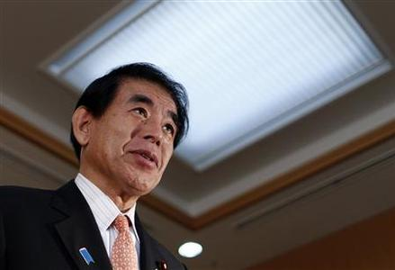 Japan's Education Minister Hakubun Shimomura speaks during an interview with Reuters in Tokyo January 29, 2013. REUTERS/Issei Kato
