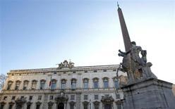 Palazzo della Consulta a Roma. REUTERS/Max Rossi