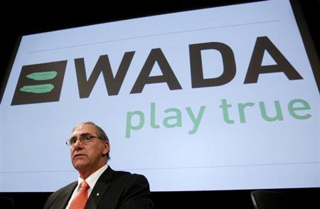 World Anti-Doping Agency (WADA) President John Fahey looks on before the WADA Media Symposium at the Olympic Museum in Lausanne in this February 27, 2008 file photo. REUTERS/Denis Balibouse/Files
