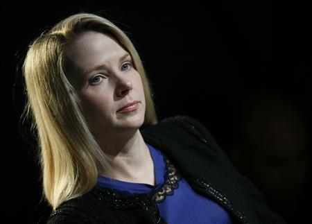 Yahoo Inc Chief Executive Marissa Mayer attends the annual meeting of the World Economic Forum (WEF) in Davos January 25, 2013. REUTERS/Pascal Lauener