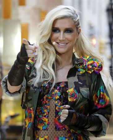 Singer Ke$ha performs on NBC's 'Today' show in New York, November 20, 2012. REUTERS/Brendan McDermid