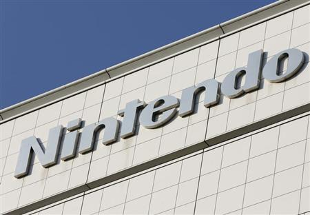 The logo of Nintendo Co is pictured outside the company headquarters building in Kyoto, western Japan January 7, 2013. REUTERS/Yuriko Nakao