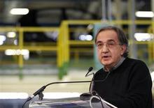 Il numero uno di Fiat Sergio Marchionne. REUTERS/Ciro De Luca