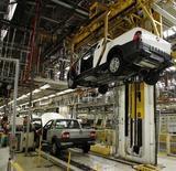 Lo stabilimento brasiliano Fiat di Betim, vicino a Belo Horizonte. REUTERS/Washington Alves